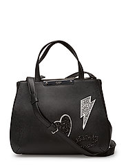 RITTA SMALL SOCIETY SATCHEL - BLACK