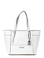 DELANEY SMALL CLASSIC TOTE BAG - WHI