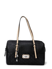 JINHA BOX SATCHEL - BLACK