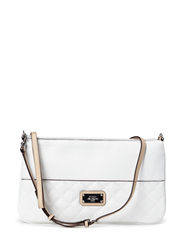 JINHA PETITE CROSSBODY CLUTCH - WHITE