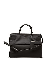 SHAILENE LARGE SATCHEL - BLACK