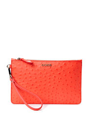 KERRY LARGE POUCH - CORAL