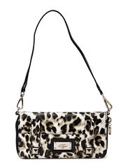 JIZELLE SLG ZIP AROUND ORGNZR - LEOPARD