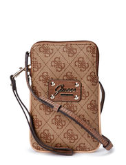 PARK LANE CROSSBODY MINI CASE - BROWN