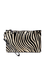 SAVVY LARGE POUCH - BLACK MULTI