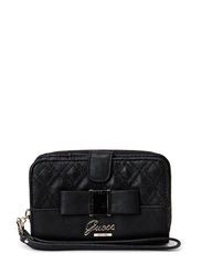 DOLLED UP SLG WRISTLET CLUTCH - BLACK