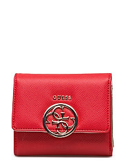 AMRYN SLG SMALL TRIFOLD - CNY RED