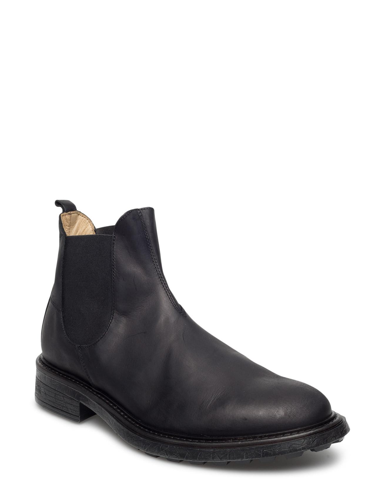 Denne Nubuck Hudson London Støvler til Mænd i Sort