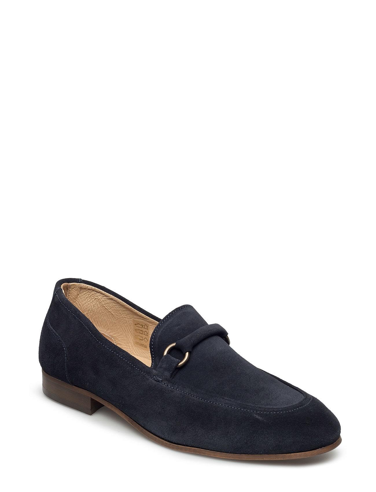 Renzo Suede Hudson London Flade sko til Damer i 001 Black