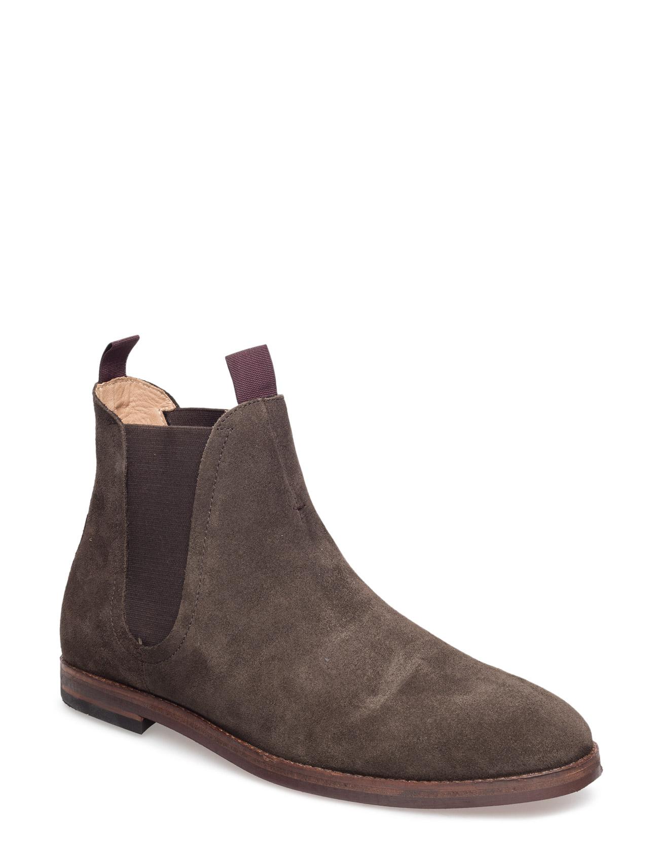 Tamper Suede Hudson London Støvler til Mænd i 001 Black