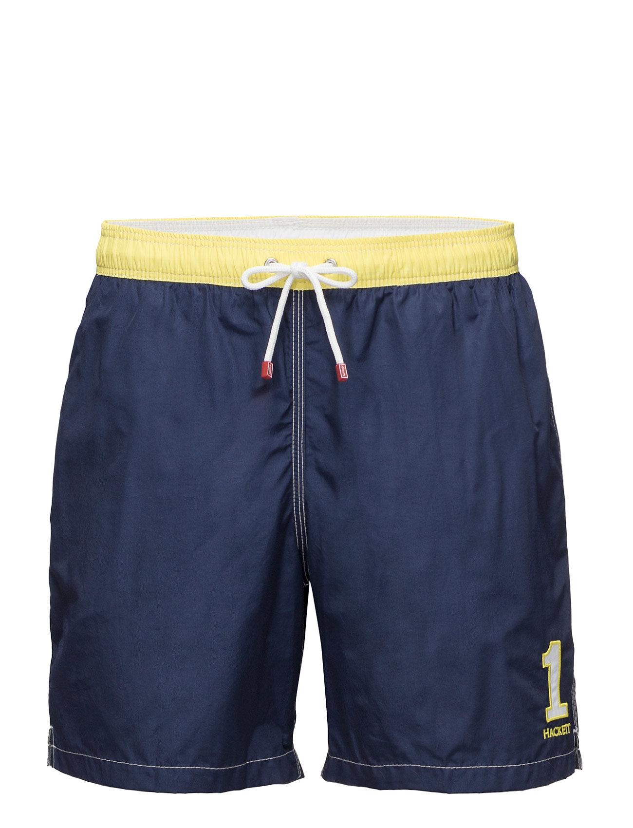 Number 1 Volley Hackett Shorts til Herrer i Navy blå
