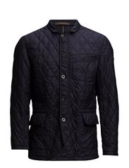 QUILTED BLAZER - NAVY