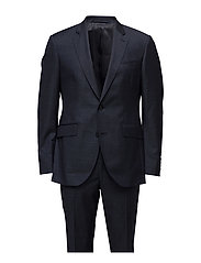 Pinpoint Texture M Hackett Suits & Blazers