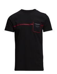AMR POCKET TEE - BLACK