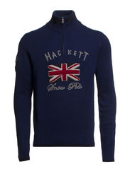 SNOW UJK HF ZIP - NAVY