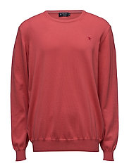 PIMA COTTON CREW NECK - CORAL