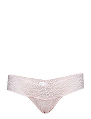 LOW RISE THONG SIGNATURE LACE - BLISS