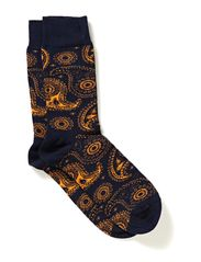 PAISLEY - black/orange
