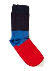 RIBBED BLOCK - blue/red