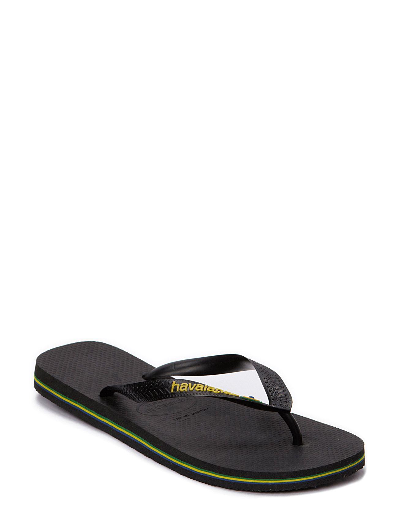 Brasil Logo Flip Flop Havaianas Sandaler til Mænd i hvid