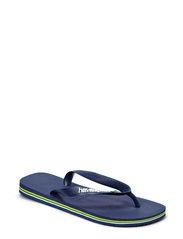 BRASIL LOGO FLIP FLOP - BLUE