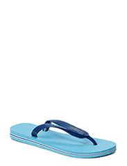 BRASIL LOGO FLIP FLOP - LAVENDER BLUE
