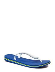 BRASIL LOGO FLIP FLOP - MARINE BLUE