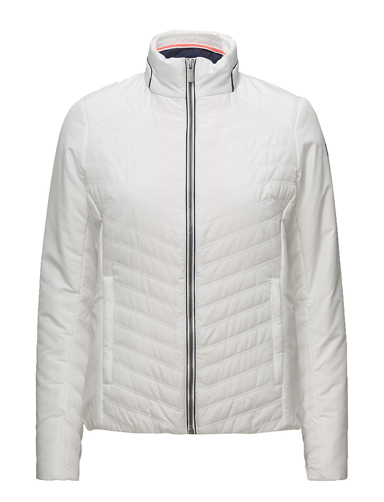 W Crew Insulator Jacket Helly Hansen Sportsjakker til Kvinder i hvid