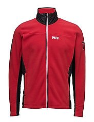 COASTAL FLEECE JACKET - RED