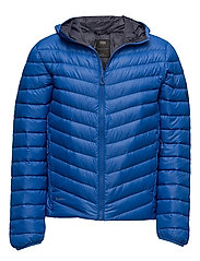 VERGLAS HOODED DOWN INSULATOR - OLYMPIAN BLUE