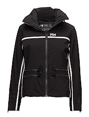 W STAR JACKET - BLACK