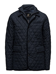 GELYN LONGQUILTED JACKET - NAV