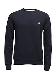 BREDGAR CREW SWEAT - NAV