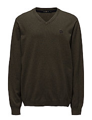 MORAY REGULAR V NECK KNIT - LTC