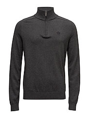 MORAY REGULAR HALF ZIP KNIT - GRM