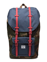 Little America - WOODLAND CAMO/NAVY/RED RUBBER