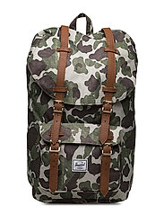 Little America - FROG CAMO/TAN SYNTHETIC LEATHE