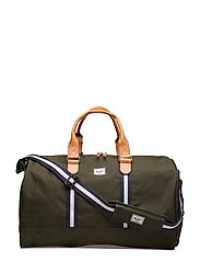 Novel - FOREST GREEN/VEGGIE TAN LEATHE