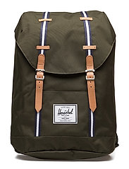 Retreat - FOREST GREEN/VEGGIE TAN LEATHE