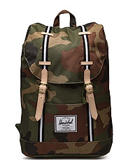 Retreat - WOODLAND CAMO/BLACK/WHITE