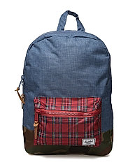 Settlement Youth - NAVY CROSSH/RED PLAID/WOODL. C
