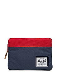 Anchor Sleeve for iPad Air - NAVY/RED