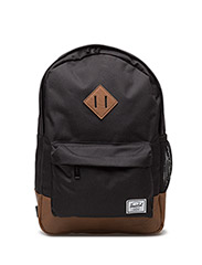 Heritage Youth - Black/Tan Synthetic Leather - BLACK/TAN SYNTHETIC LEATHER