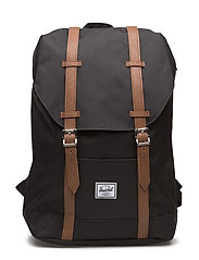 Retreat Mid-Volume - BLACK/TAN SYNTHETIC LEATHER