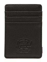 Raven Leather RFID - BLACK PEBBLED LEATHER
