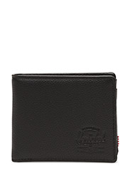 Hank + Coin Leather RFID - BLACK PEBBLED LEATHER
