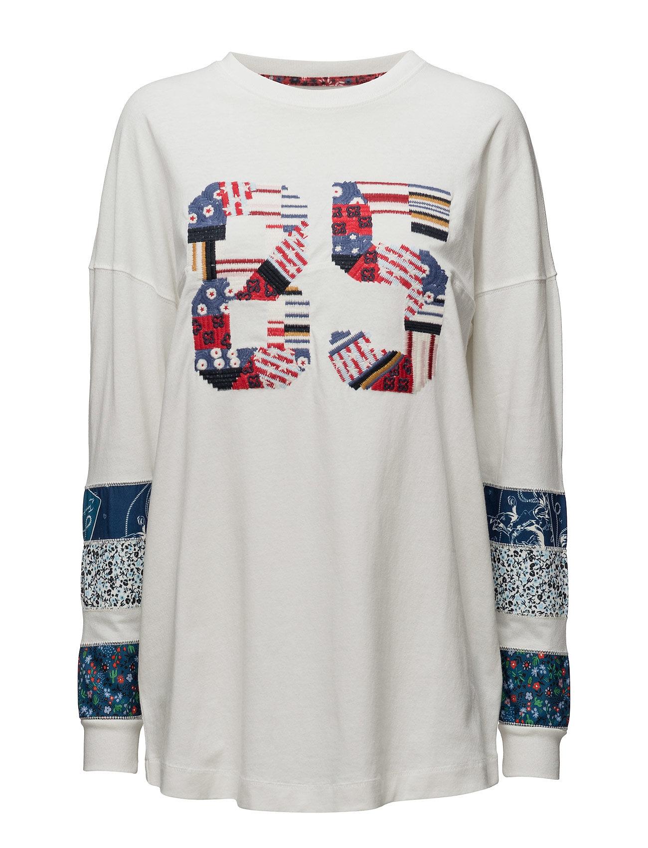 Patchwork Ls T-Shirt Hilfiger Collection Barn