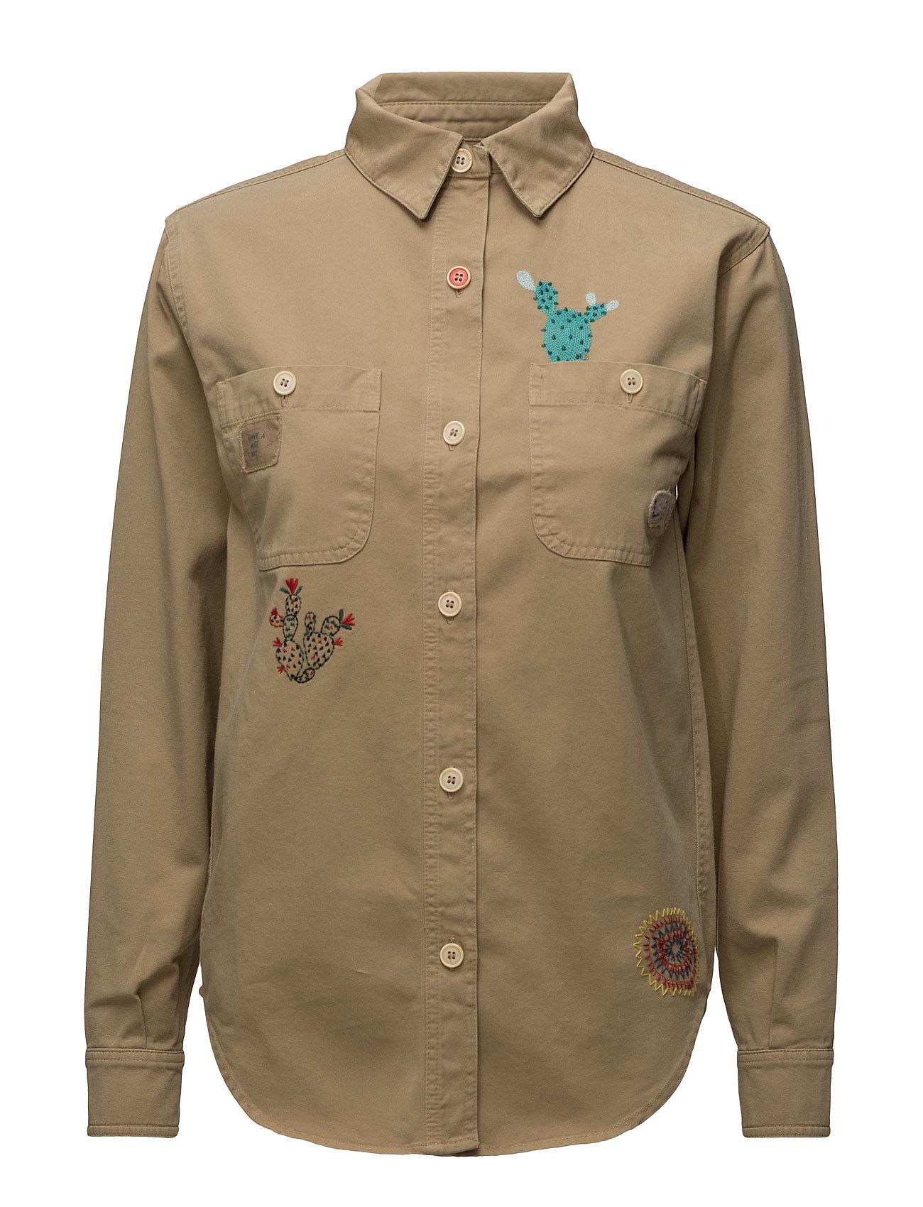 Washed Shirt Jkt Hilfiger Collection Trøjer til Kvinder i