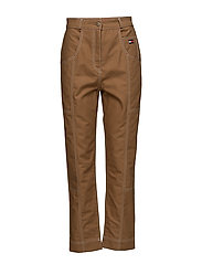 COTTON WORKWEAR  PAN - TOBACCO BROWN