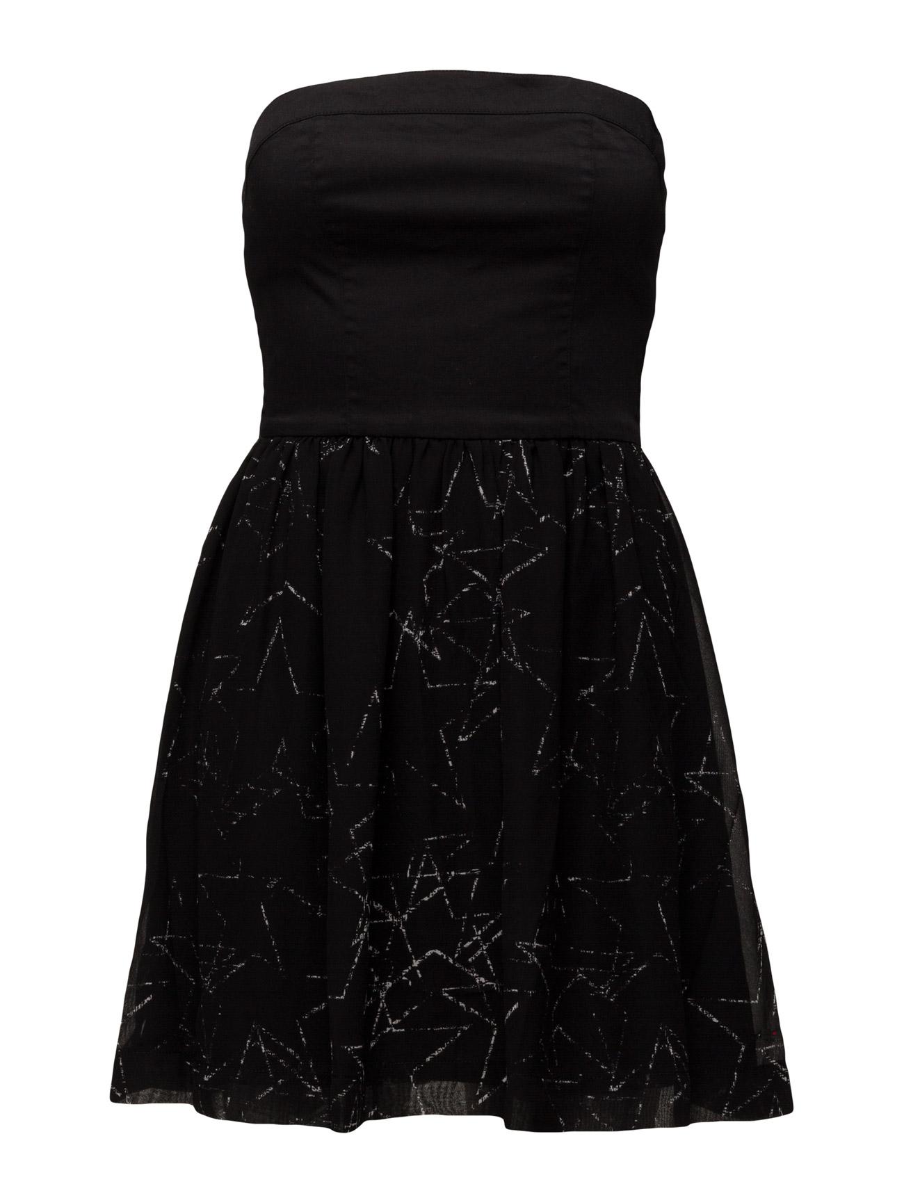 Quadira Dress Strapless Hilfiger Denim Korte kjoler til Damer i Sort